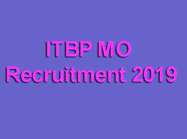 ITBP MO Recruitment