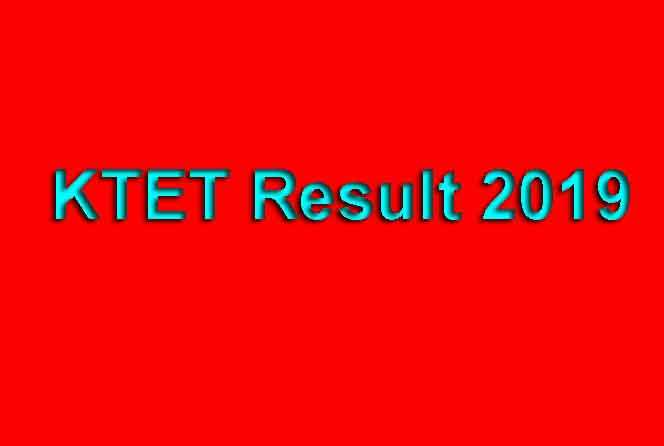 KTET Result 2019