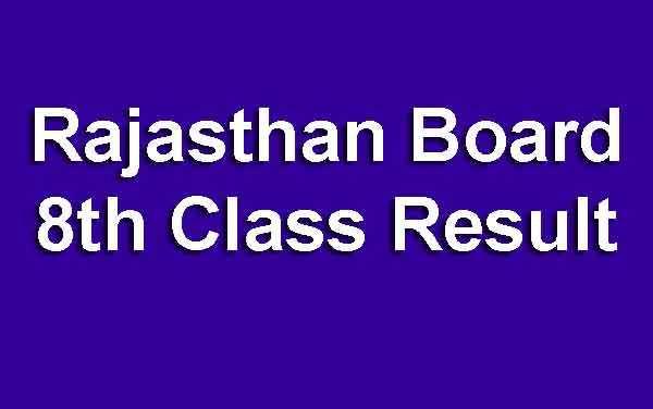 8th Board Result 2019