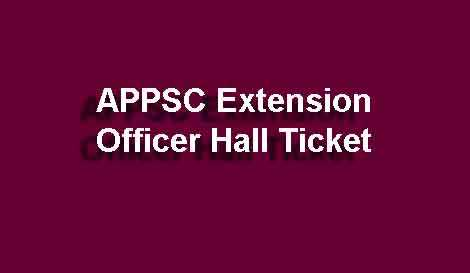 AP EO Main Hall Ticket