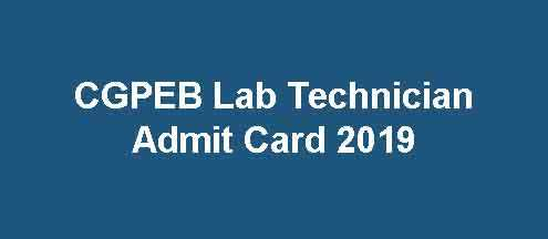 CGPEB Lab Technician