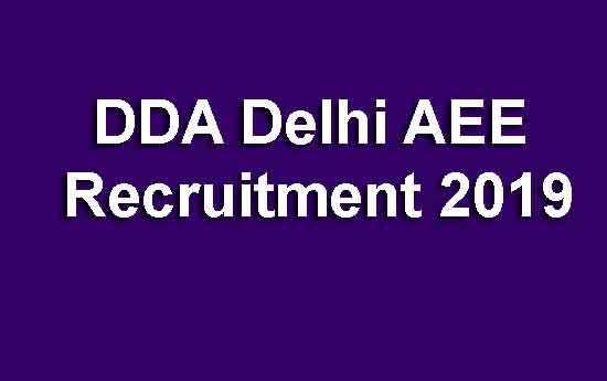 DDA Delhi AEE
