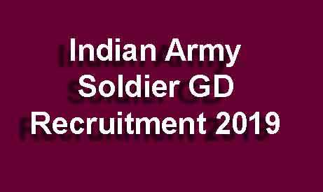 Indian Army Soldier Recruitment