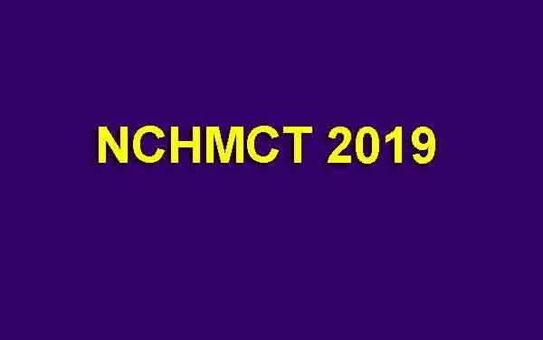 NCHMCT 2019