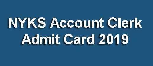 NYKS Account Clerk