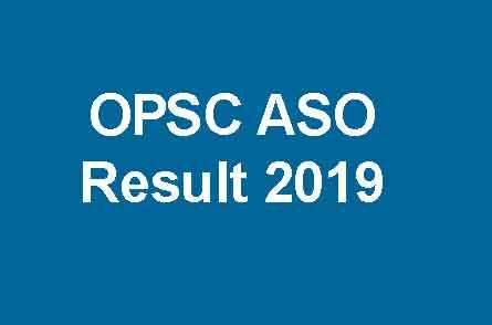 OPSC ASO Result