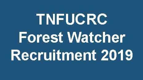 TNFUSRC Forest Watcher Recruitment
