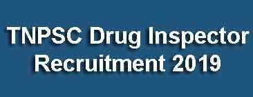 TNPSC Drug Inspector