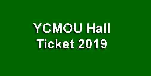 YCMOU Hall Ticket Download
