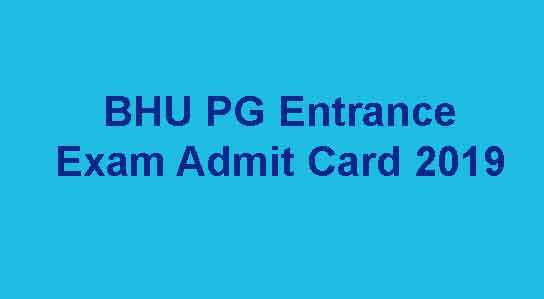 BHU PET Entrance Exam Admit Card