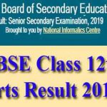 RBSE Class 12th Arts Result 2019