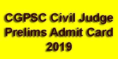 CGPSC Civil Judge