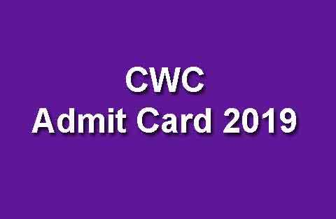 CWC Call Letter 2019