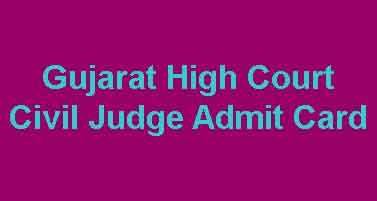 GHC Civil Judge Admit Card