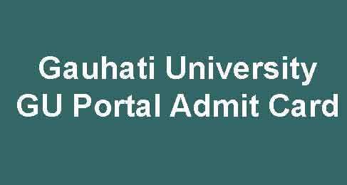 GU Portal Admit Card