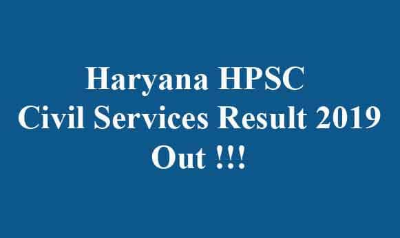 HPSC Prelims Result