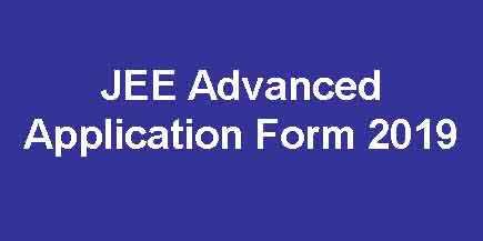 JEE Advance Online Form
