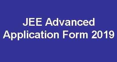 JEE Advance Registration Form