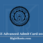 JEE Advanced Admit Card 2020 (Out) - Download JEE Adv Hall Ticket & Check Exam Date