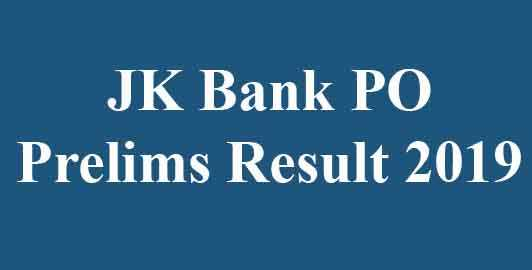 JK Bank Probationary Officer Result