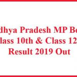 Madhya Pradesh MP Board Class 10th & 12th Result 2019