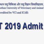 RPVT 2019 Admit Card