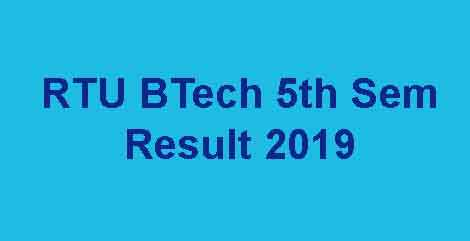 RTU 5th Sem Result