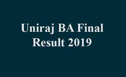 RU BA Final Result