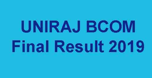 RU BCOM Part 3rd Result 2019