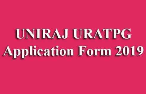 UNIRAJ URATPG Online Form2019