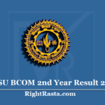 MLSU BCOM 2nd Year Result 2020 (Out) | Mohanlal Sukhadia University B.Com Part 2 Results