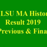 MLSU MA History Result 2019 [Previous & Final Year Exam 2019]