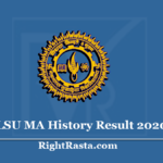 MLSU MA History Result 2020 (Out) - Download Previous & Final Exam Results