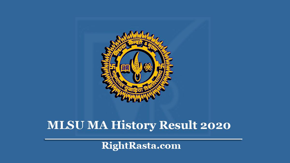 MLSU MA History Result