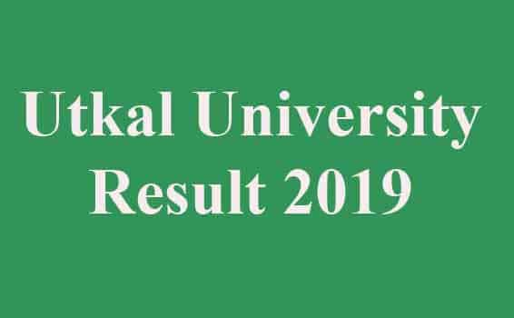 Utkal University UUEMS Result 2019