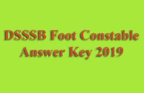 DSSSB 44/13 Answer Key