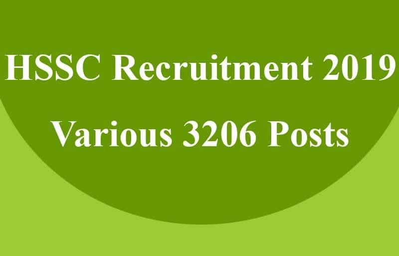 Haryana HSSC Technical Recruitment