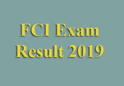 How to Download FCI Result