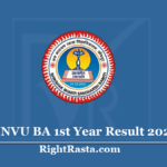 JNVU BA 1st Year Result 2020 (Out) - Download Jodhpur University B.A. Results