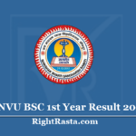 JNVU BSC 1st Year Result 2020 (Out) - Download Jodhpur University B.Sc Results