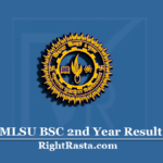MLSU BSC 2nd Year Result 2020 (Out) | Download B.Sc Part 2 Results