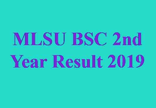 MLSU BSC Part 2 Result