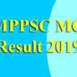 MPPSC MO Result 2019