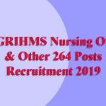 NEIGRIHMS Nursing Officer Recruitment 2019