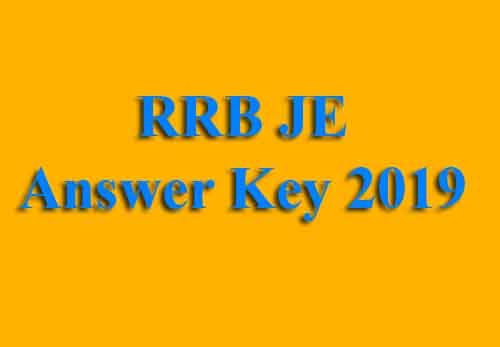 RRB CBT 1 Exam Answer Key