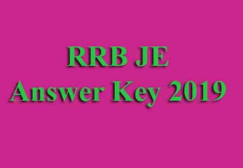RRB Junior Engineer Answer Key