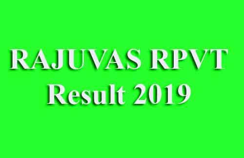 Rajasthan Pre Veterinary Test Result