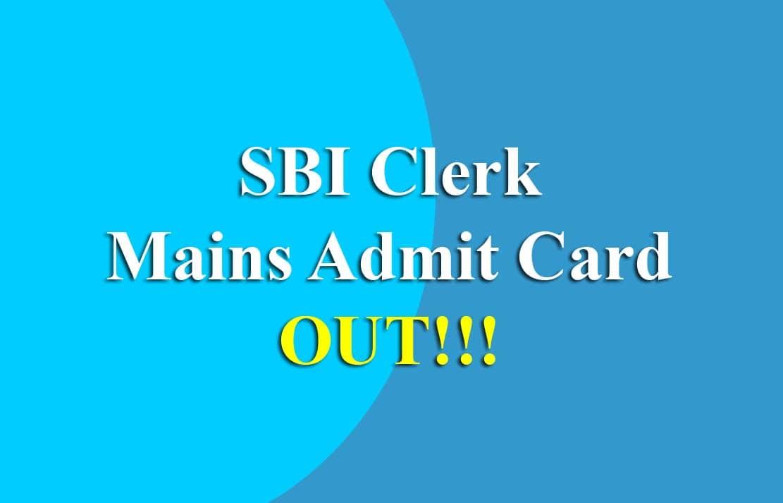 sbi clerk admit card 2019 download direct link