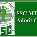 SSC MTS Admit Card 2019 (NR Region)