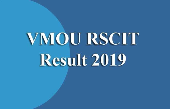 VMOU RSCIT Result 2019